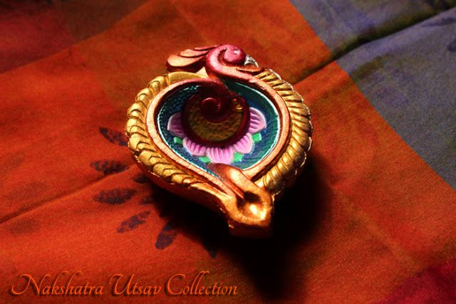 Nakshatra Utsav Collection: NUC_Decorative Diwali Diya 2015_001