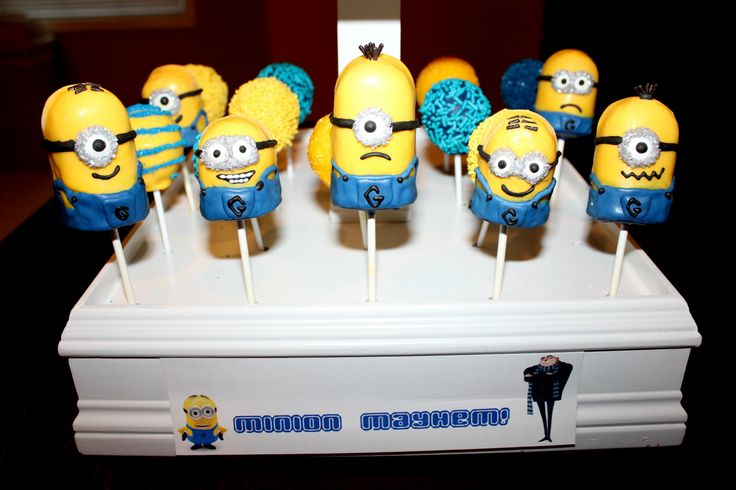 Minion Chocolate Covered Twinkies