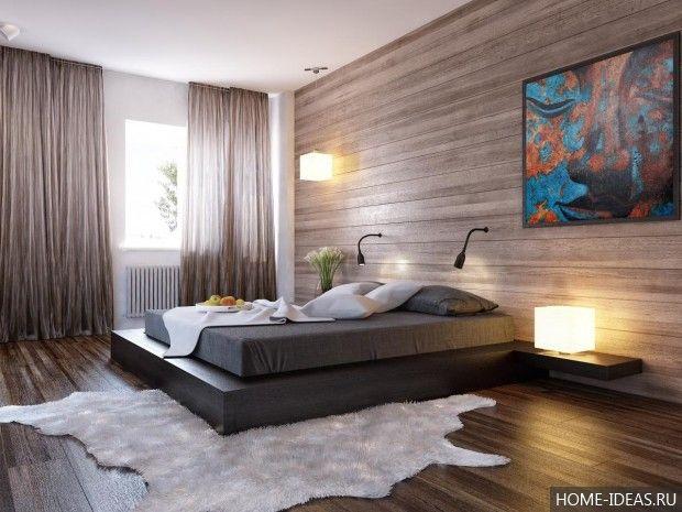 Дизайн спальни современные идеи 2015: фото