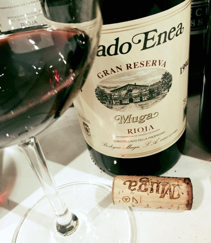 El Alma del Vino.: Bodegas Muga Prado Enea Gran Reserva 1994.