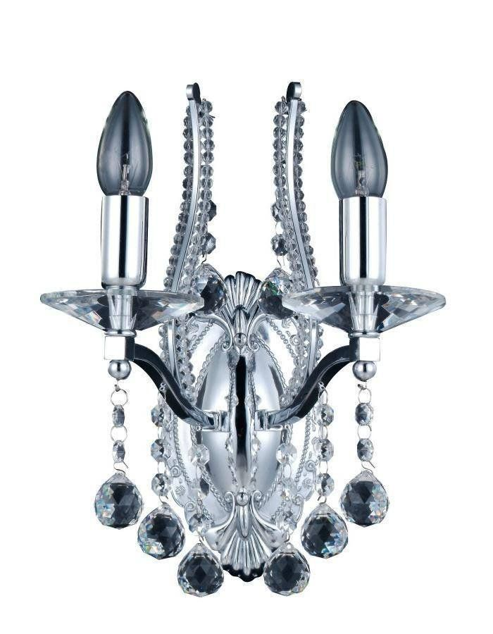 Mosman Chandelier Wall Light  If you have purchased one of our stunning Mosman Chandeliers then make sure you compliment it with a range of strategically placed double or single Mosman Chandelier Wall Lights.