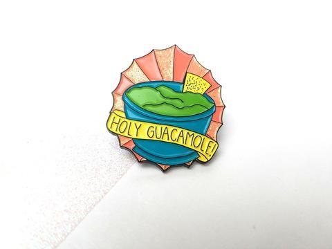 Holy Guacamole! Enamel Pin