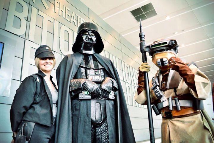 Vader, Boushh, and Juno.