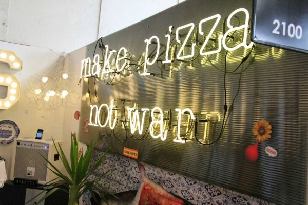 Make Pizza Not War