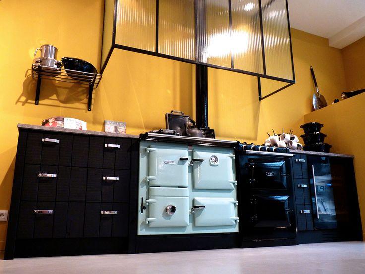 17 best images about fourneaux pianos de cuisson cuisini res on pinterest plan de travail. Black Bedroom Furniture Sets. Home Design Ideas