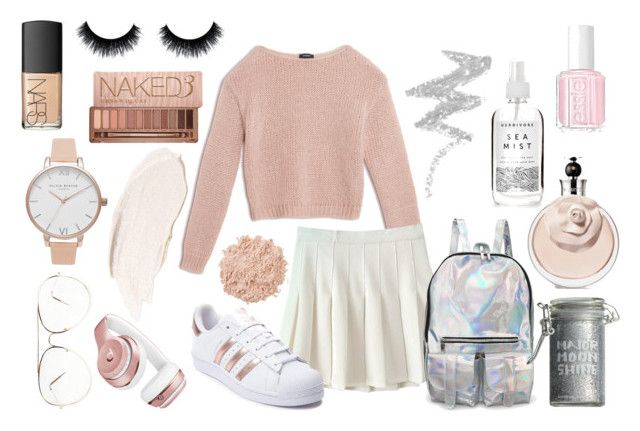 """""""Tennis outfit"""" by tess-302 on Polyvore featuring Max&Co., adidas, Beats by Dr. Dre, Olivia Burton, Essie, La Mer, Herbivore, Major Moonshine, NYX and NARS Cosmetics"""