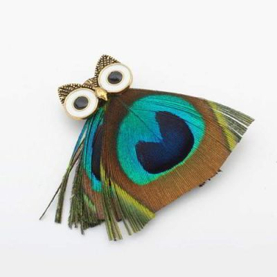 Forever21 Owl Color Matching Brooch Multi Color,Small and catchy.REPIN if you love it.😊  Only 31 IDR