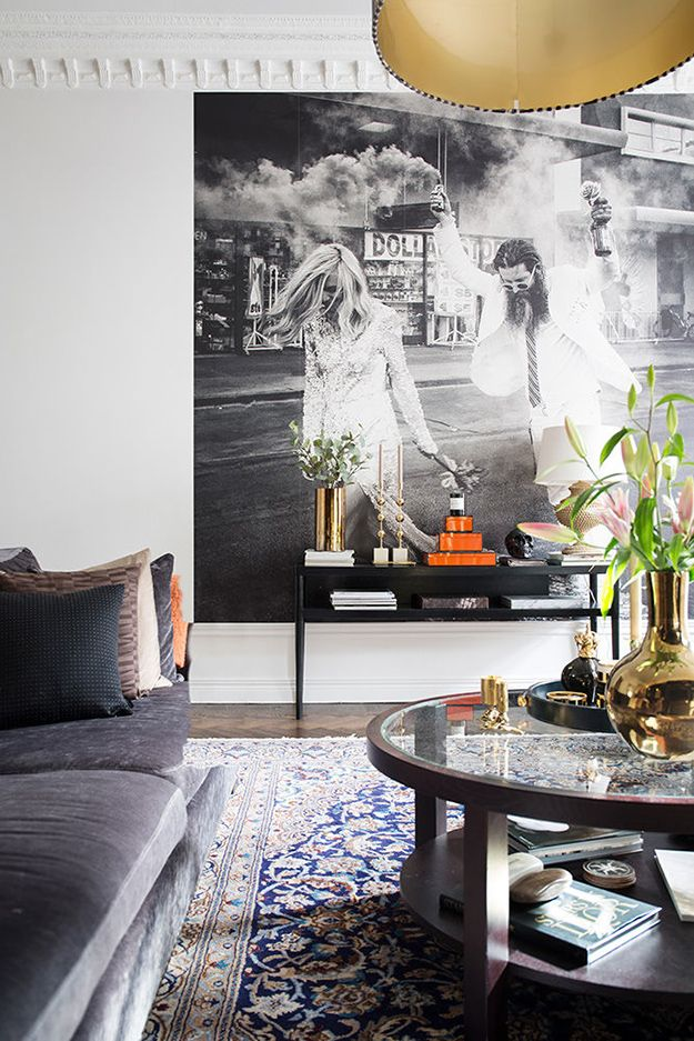 Making a statement with your walls - desire to inspire - desiretoinspire.net