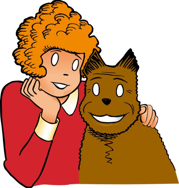 coloring pages little orphan annie - photo#35