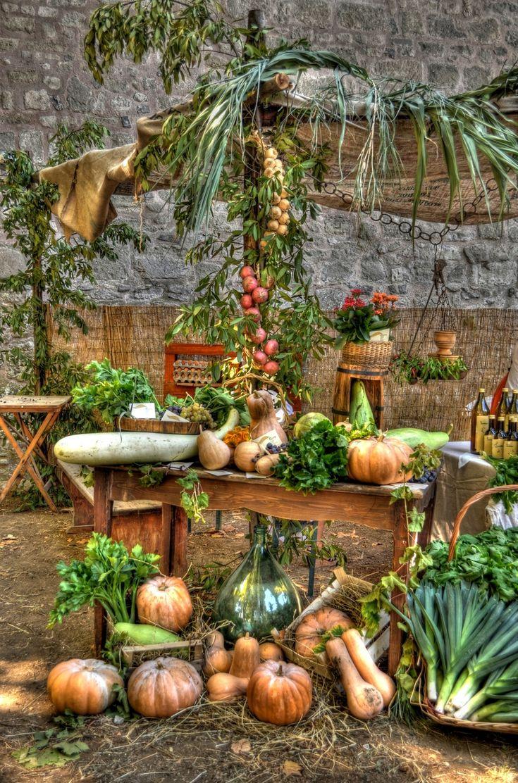 Zucche all'antica fiera