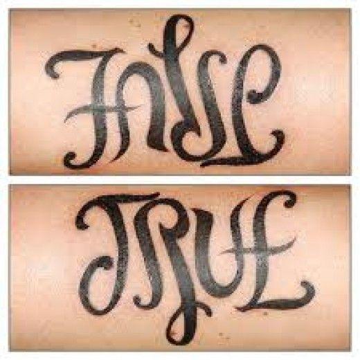 Tattoo Ideas Ambigram Tattoos