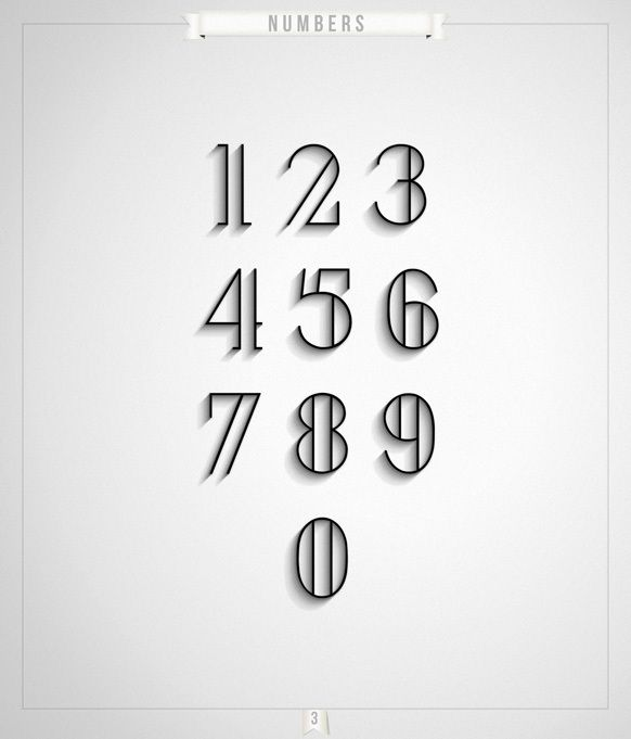 1000 images about typography numbers signage on pinterest typography calendar design and