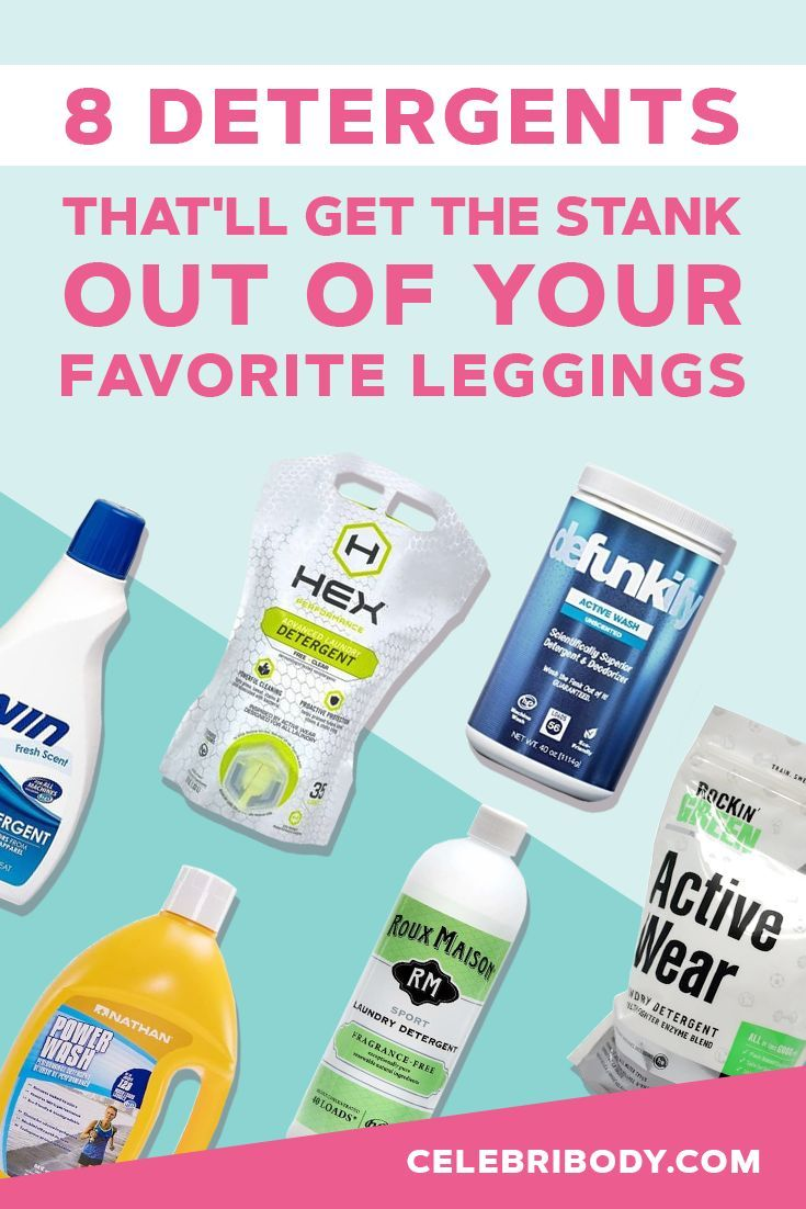 The Best Detergent For Smelly Workout Clothes 8 Legit Options