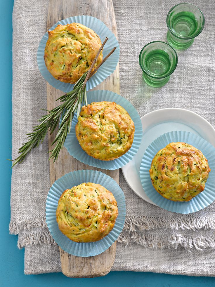 Herzhafte Muffins als Snack für zwischendurch