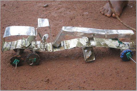 Homemade truck toy, Ghana by Elizabeth-Merry Condon, via Flickr