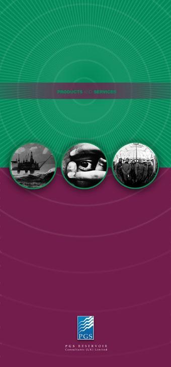 PGS Reservoir petroleum geo-services brochure cover
