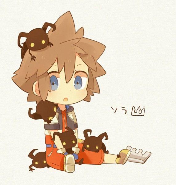 Pixiv Id 2589786, Disney, SQUARE ENIX, Kingdom Hearts, Sora (Kingdom Hearts), Keyblade