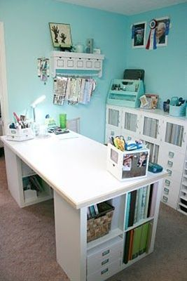 My Craft Room: The Desk Area!