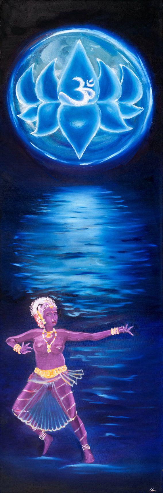 Shakti Lotus Moon Dancer Series by MissSharda on Etsy