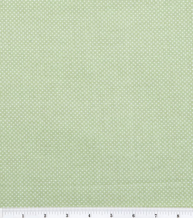Keepsake Calico Cotton Fabric Sage Dots Calico fabric