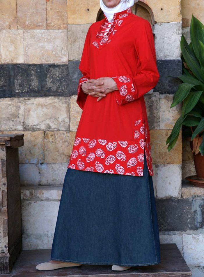 SHUKR USA | Nadirah Embroidered Tunic
