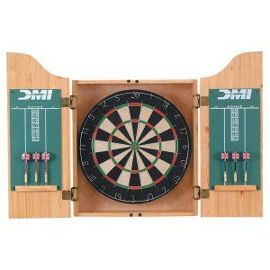Dart Board & Cabinet Sets Bristle Dart Boards on Hayneedle - Dart Board & Cabinet Sets Bristle Dart Boards For Sale