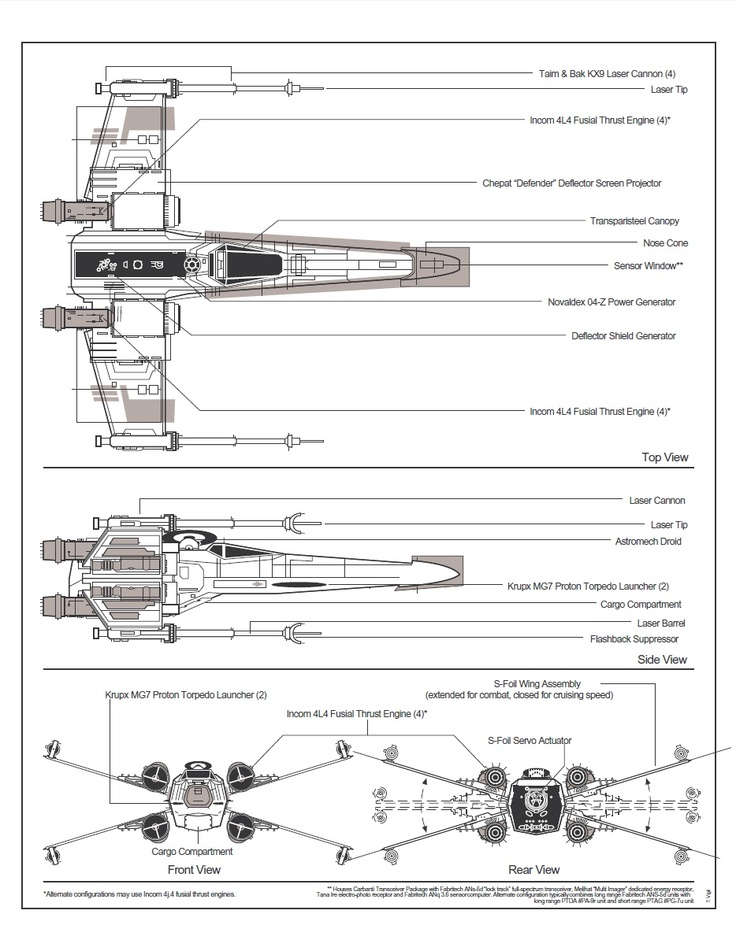 x-wing schematic. note: failure to install the flashback, Wiring schematic