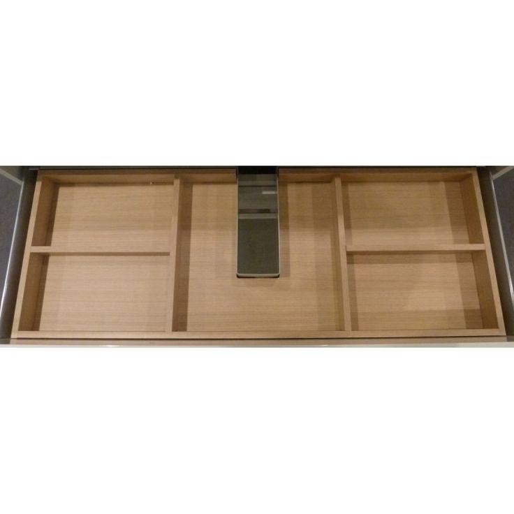 Blinq Castor lade-indeling voor bovenste lade hout (18866) | BadkamerXXL