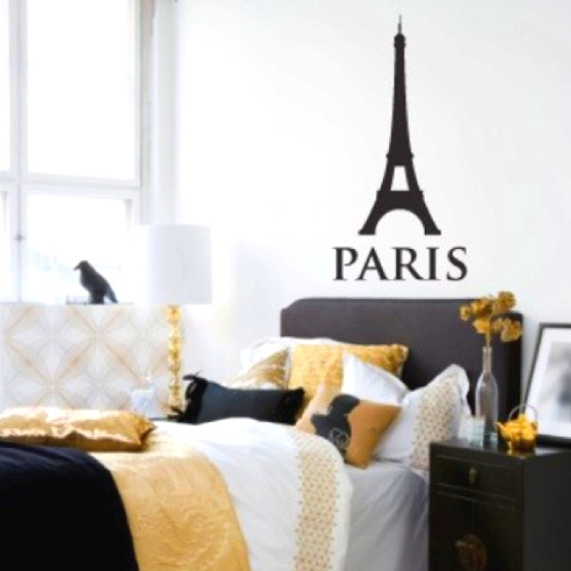 And I Will Also Have A Paris Themed Room. :). Black BedroomsBlack ...