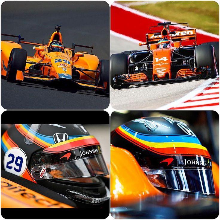 "29.8 mil Me gusta, 126 comentarios - Fernando Alonso (@fernandoalo_oficial) en Instagram: ""Race Day. For the second time..🤗 #mclaren #honda #14 #29 #usgp #racing #racer"""