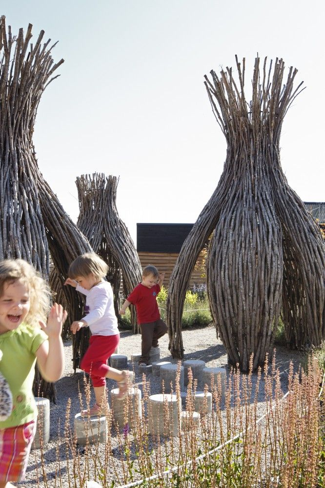 UniverCity Childcare, Illinois - great ideas for balancing, moving, exploring shapes and spaces!