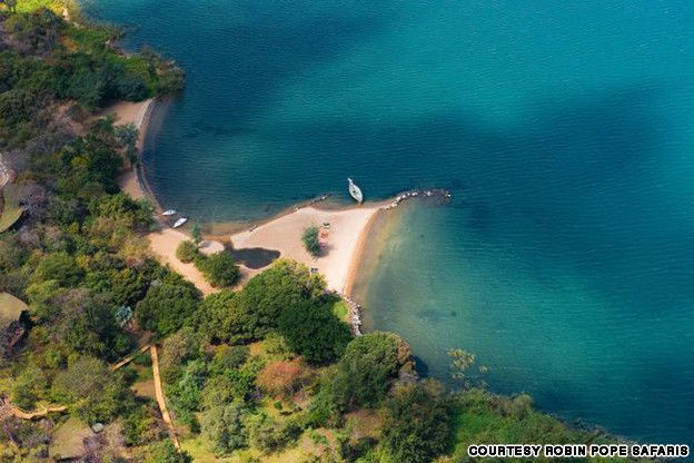 Lake Malawi, Malawi The lake has more tropical fish than any lake in the world -- 1,300 species -- and the freshwater diving is great.