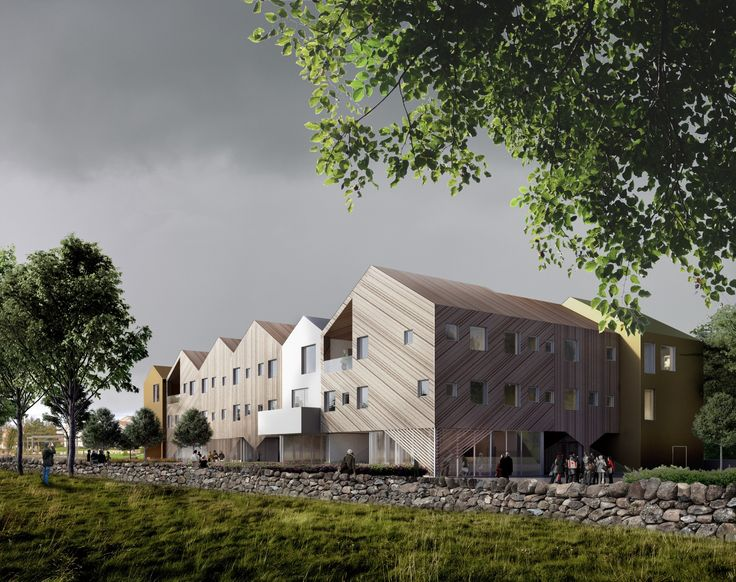 3RW and NORD's Randaberg Healthcare Center is Designed to Feel Like a Norwegian Hamlet