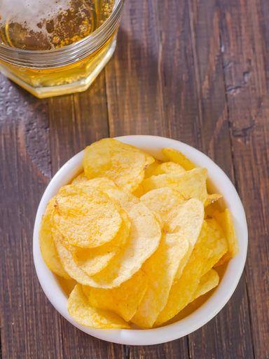 Chips de topinambours : Recette de Chips de topinambours - Marmiton