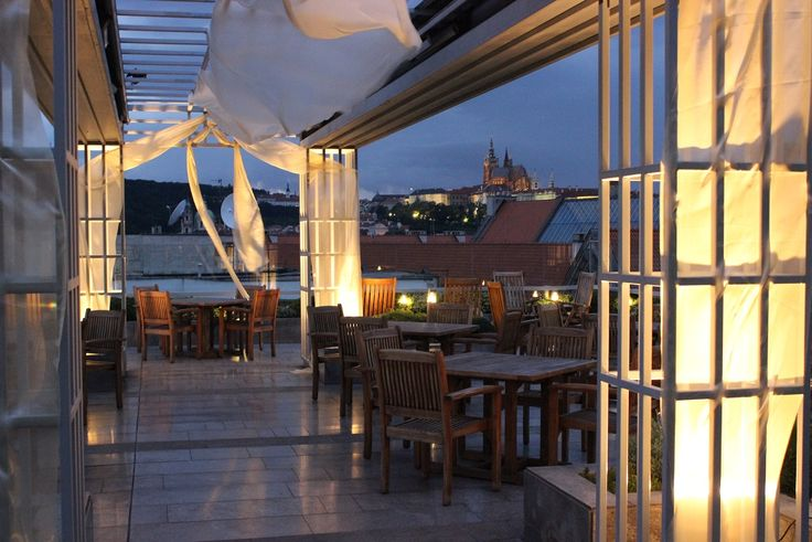Follow your ceremony on the terrace with your wedding dinner or wedding party at Zlata Praha restaurant.  Find out more http://www.icprague.com/
