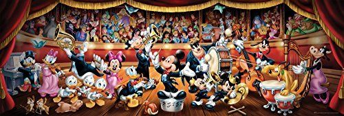 Disney - Clementoni - High Quality Collection - Panorama Puzzle - 1000 Teile