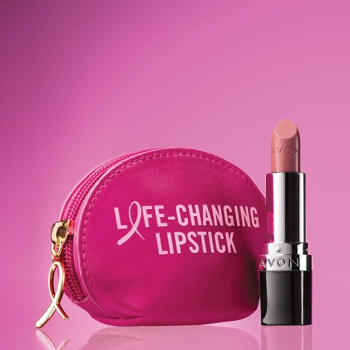 Pink Hope Iconic Lipstick Set | AVON Avon True Color Perfectly Matte Lipstick in Pure Pink, the official lipstick shade of the Avon Breast Cancer Crusade.