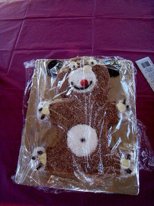 Bear cake for SarBears 21st