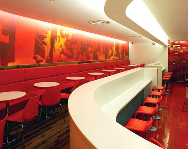 Flagship 1 Mcdonalds Redesign A New Era For Fast Food Restaurants In 2018 Restaurant Design