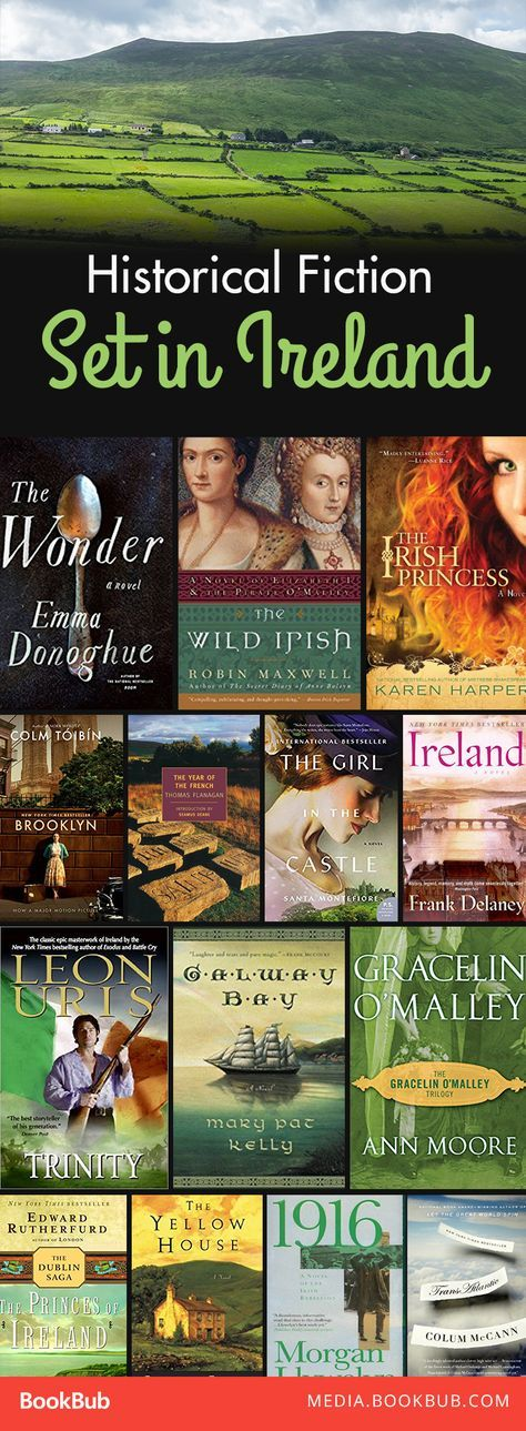 14 Historical Fiction Books set in Ireland. |  [For the little bit of Irish in all of us!] A