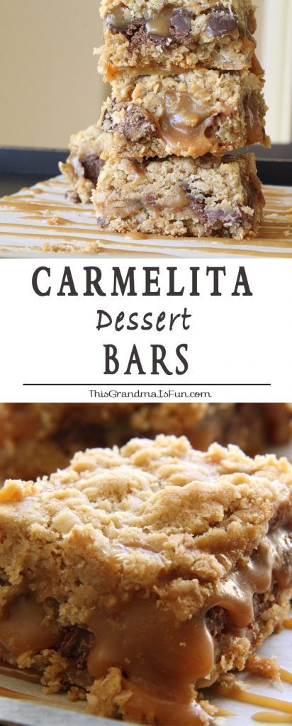 Dripping in ooey gooey caramel and chocolate, these oatmeal bars are perfect for…
