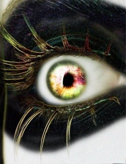 Crazy Eye Make Up: 21 Best Images About Eyes On Pinterest