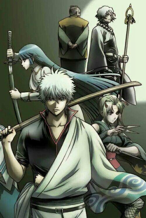 Gintama looks really cool.