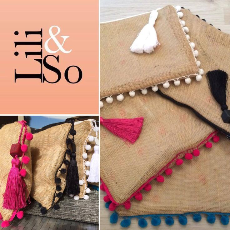 Lili&So handmade clutch bags from South Of France