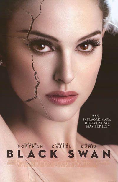 Black Swan Cracked Natalie Portman Movie Poster 24x36