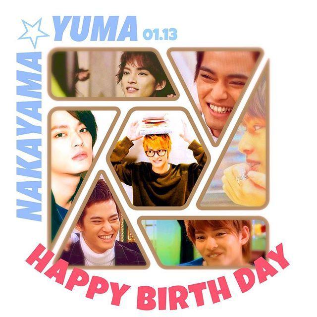✳︎ Y u m a N a k a y a m a 🐠  優馬さん23歳のお誕生日おめでとう🎂 優馬さんに惚れてもう10年… 岩ちゃんより玲於より長い10年… ゆまちゃんがいたから頑張れたこと いっぱいあるっ! 歌とダンスと演技全部大変だけど 全てに全力で頑張る姿には いつも笑顔と勇気を貰ってるっ  いつも本当にありがとう😌💓 これからも大好きっ❤️ #中山優馬 #yumanakayama #yuma #happybirthday #HBD #23th #idol #ジャニーズ  #love #smile #power #thankyou #さかなクン #愛犬 #ティンク #🐶 #💓
