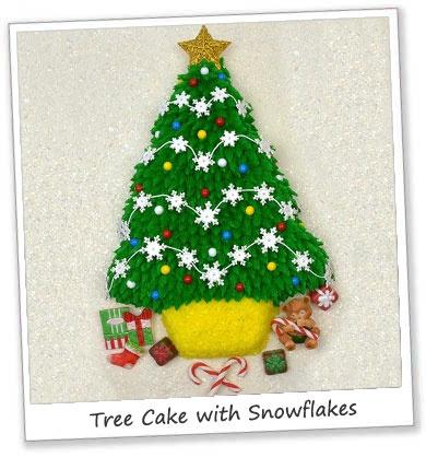 Cupcake Cakes Christmas Tree