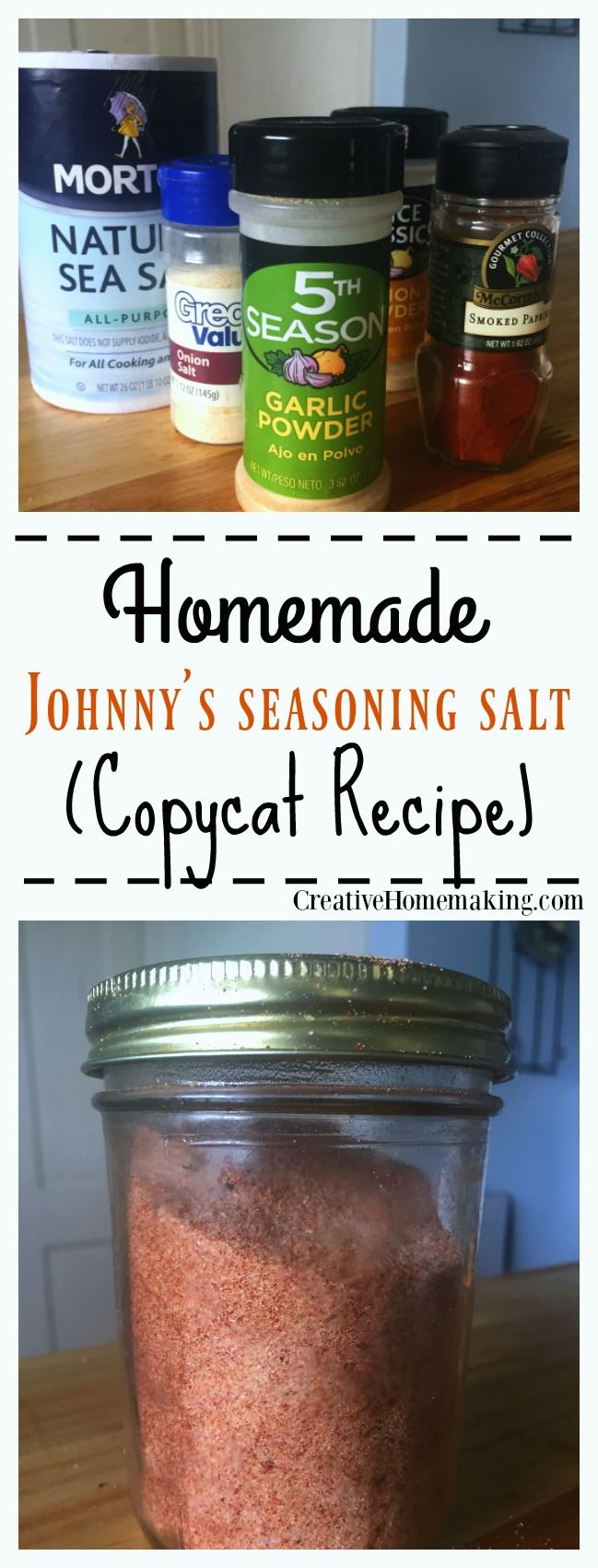 If your family loves Johnny's seasoning salt then give this easy MSG-free recipe a try.