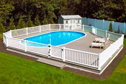 Swimming Pool Deck Design Ideas With Most Popular Diy