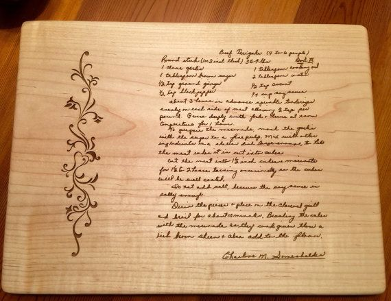 typed recipe cutting board - 570×439
